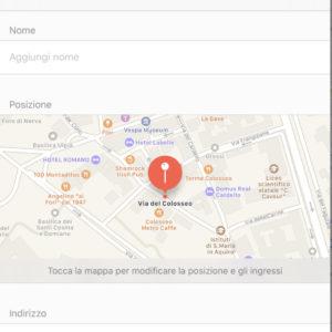Come aggiungere luoghi su Apple Mappe 2
