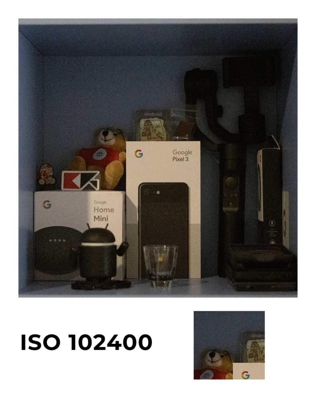 Panasonic Lumix S1 ISO102400