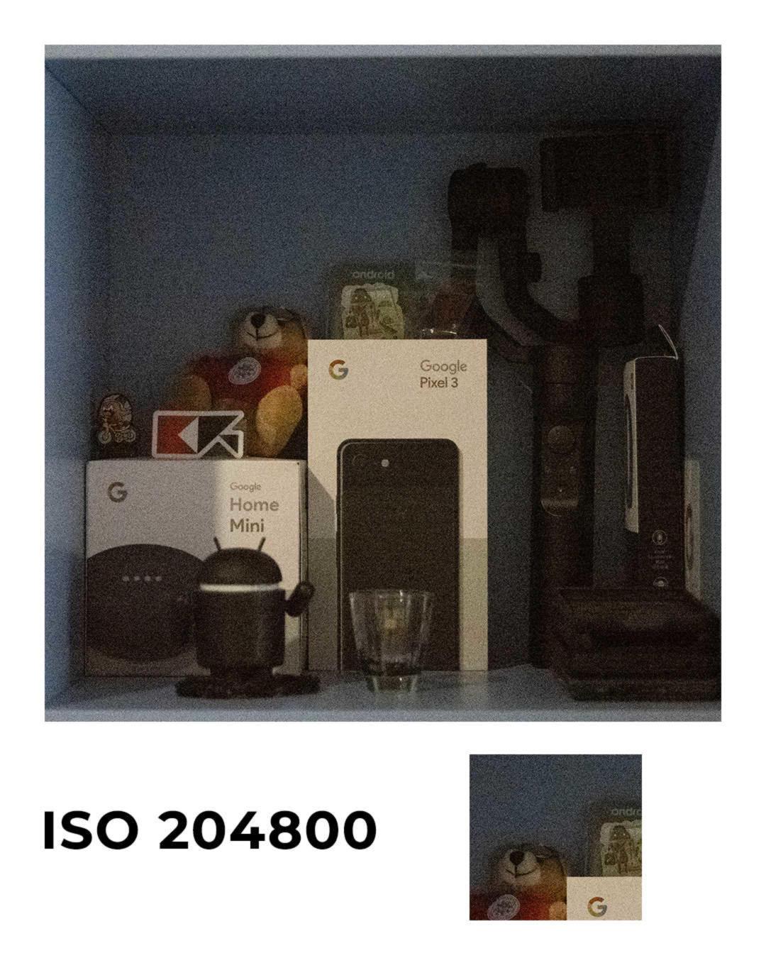 Panasonic Lumix S1 ISO204800