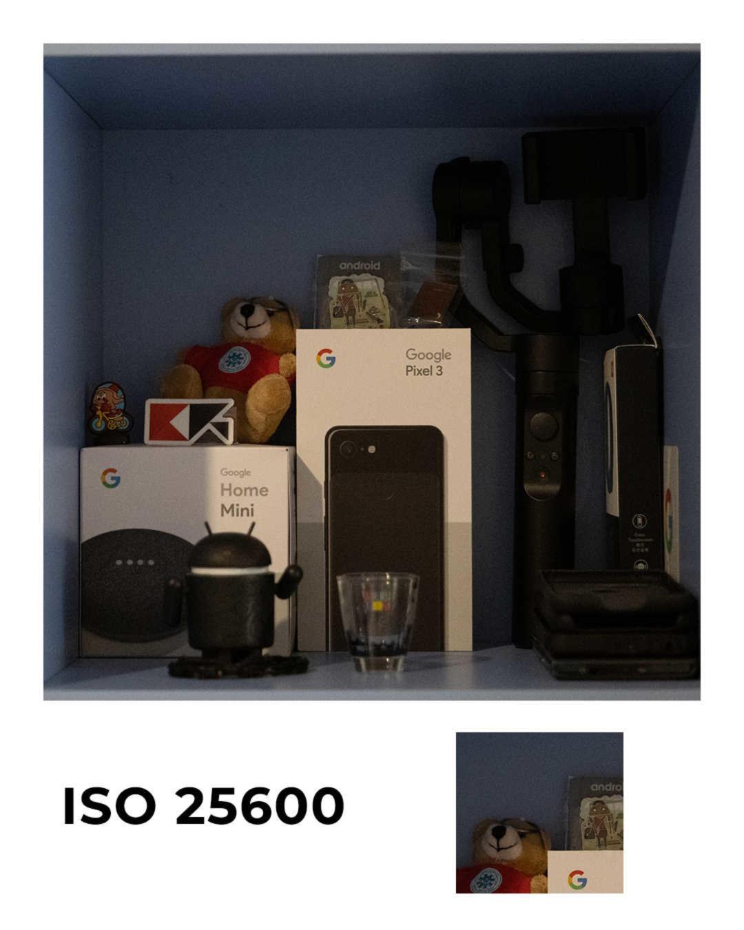 Panasonic Lumix S1 ISO25600
