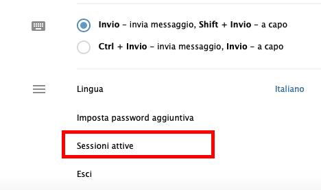 Come verificare le sessioni attive di Telegram Web