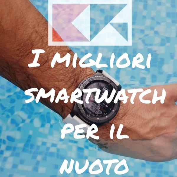 migliori smartwatch nuoto