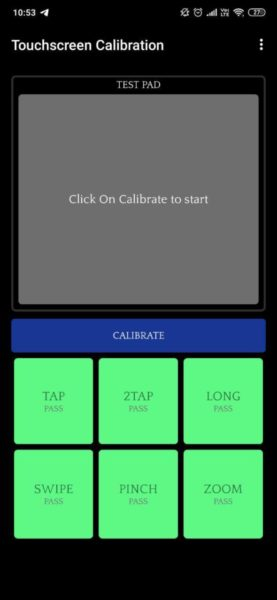 Come calibrare touch screen Android
