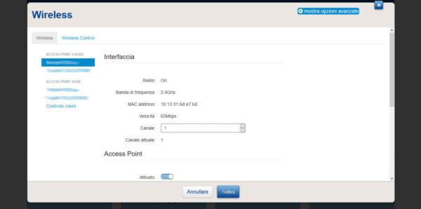 Come cambiare canale Wi-Fi al router TIM