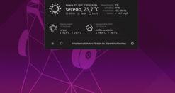 Come controllare il meteo in GNOME Shell