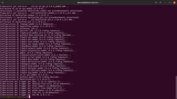 Come eseguire backup di Linux