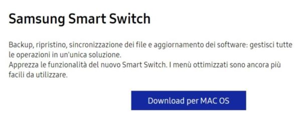Come funziona Samsung Smart Switch 7