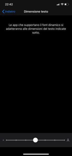 Come ingrandire caratteri su WhatsApp