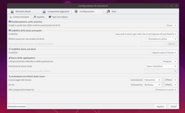 Come installare Cairo Dock su Linux