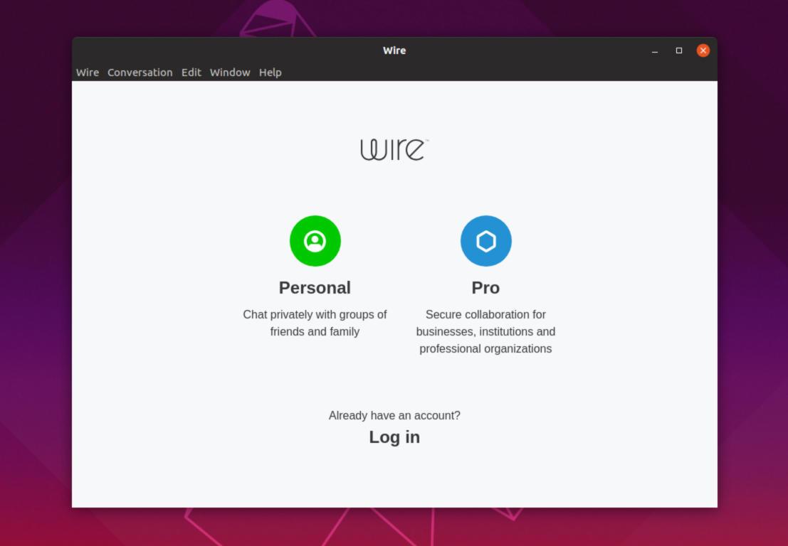 Come installare Wire su Linux 2