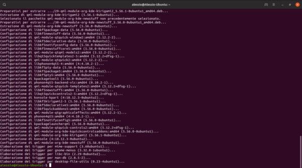 Come personalizzare il terminale di KDE
