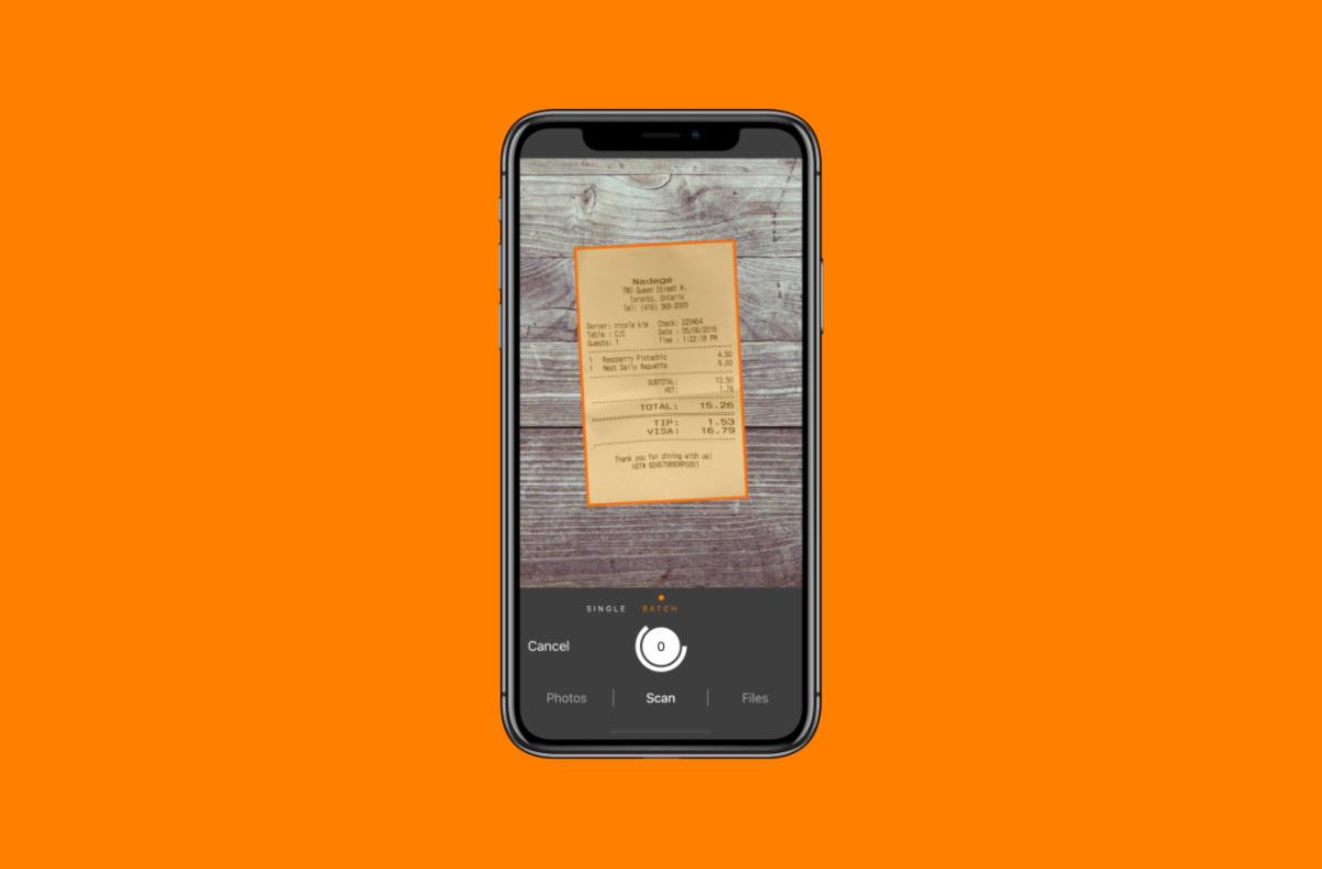 Come scannerizzare documenti con iPhone 2