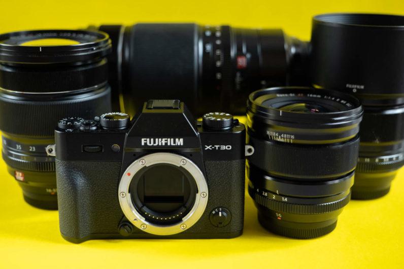Fujifilm X T30 7