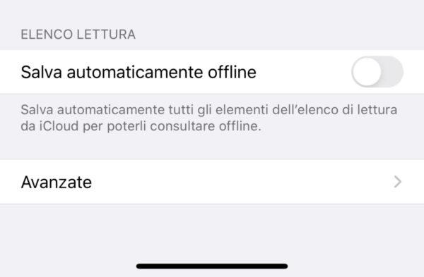"""Come salvare offline """"elenco lettura"""" di Safari su iPhone 1"""