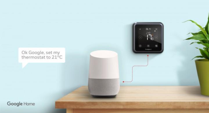 Termostato wifi compatibile con Google Assistant