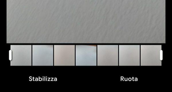 Come stabilizzare e ruotare un video con Google Foto