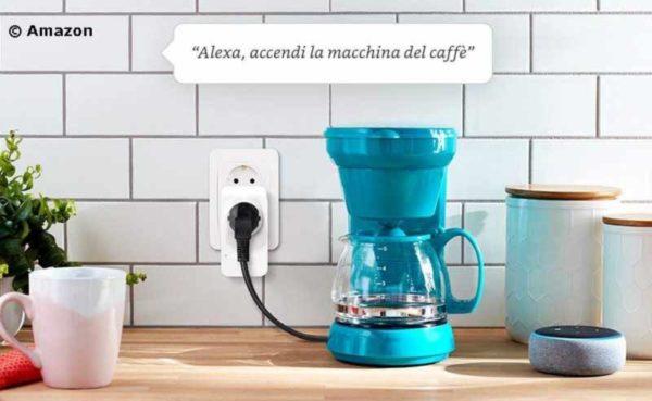 presa wifi compatibile con Amazon Alexa smart