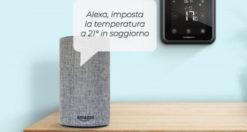 Termostato WiFi compatibile con Amazon Alexa