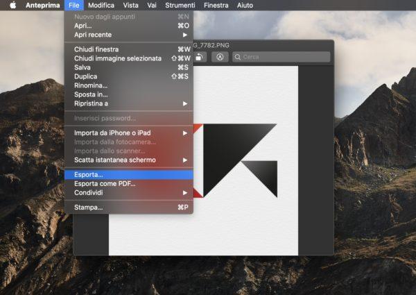 Come convertire più immagini insieme con Mac 1