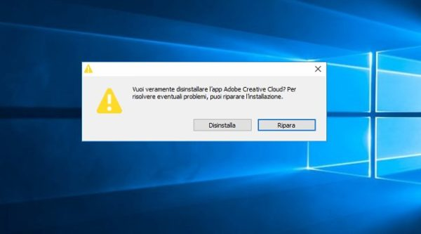 Come disinstallare Adobe Creative Cloud 2