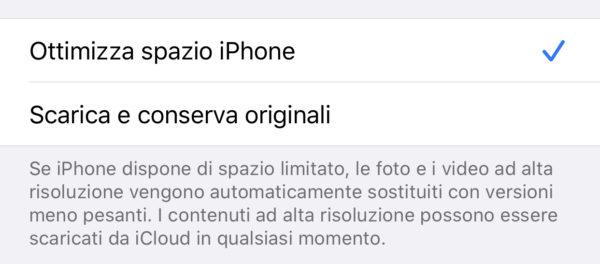 Scaricare foto da iCloud su iPhone