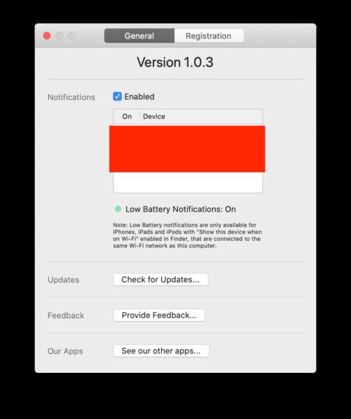 Come controllare la batteria di iPhone dal Mac 1
