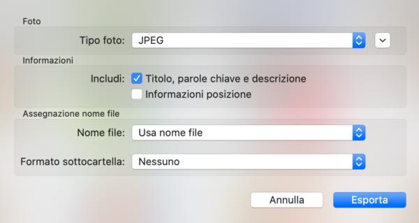 Scaricare foto da iCloud su Mac e