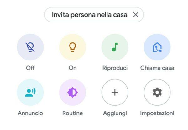 Come chiamare Google Home da smartphone