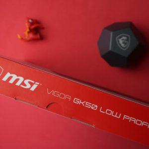 MSI Vigor GK50 LP