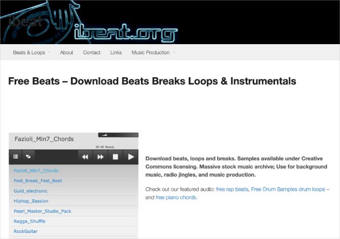 10 siti per trovare musica gratis senza copyright 7