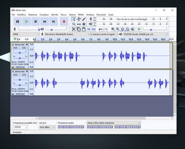 Come convertire audio stereo in mono su Windows 10