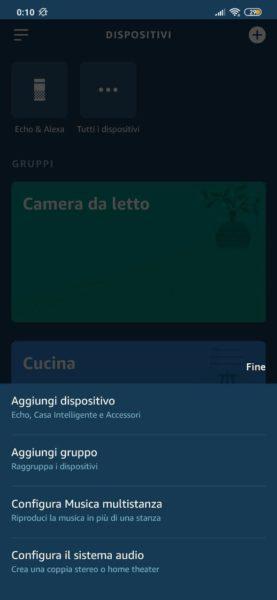 Come riprodurre laudio della TV su Amazon Echo 2