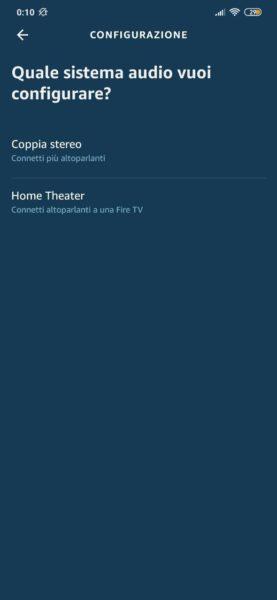 Come riprodurre laudio della TV su Amazon Echo 3