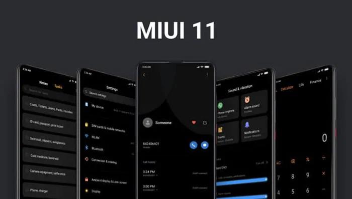 Dark Mode MIUI 11