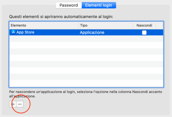 Come impedire ad un programma di avviarsi all'avvio su Mac