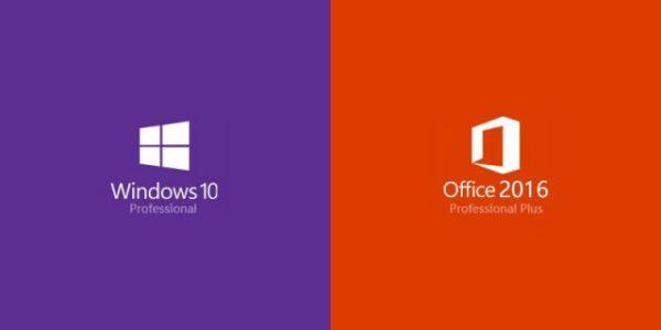 Windows 10 pro Office 2016 Professional Plus