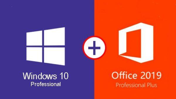Windows 10 pro Office 2019 Professional Plus