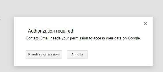 Come esportare contatti da Gmail