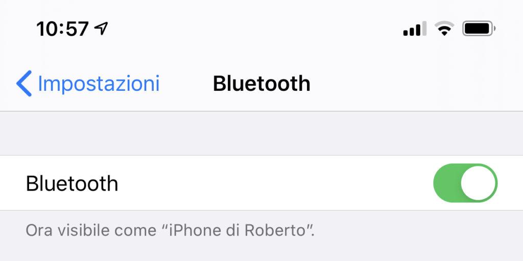 Collegare tastiera Bluetooth