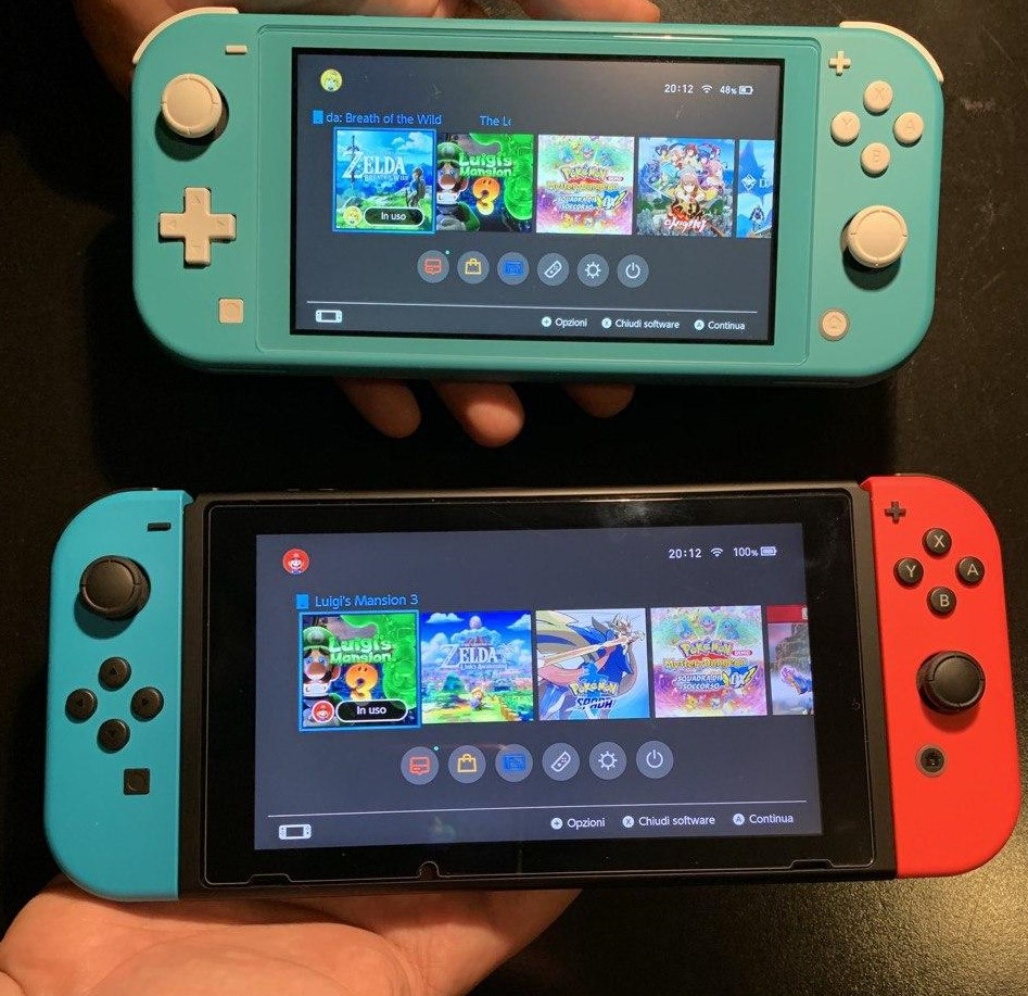 Nintendo Switch vs Switch Lite quale comprare 2