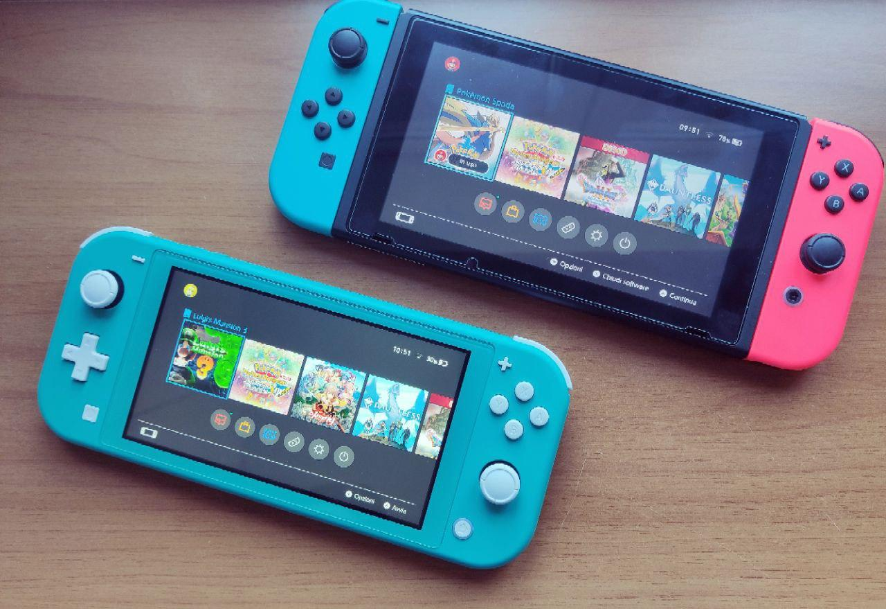Nintendo Switch vs Switch Lite quale comprare 3