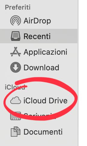 Utilizzare il cloud