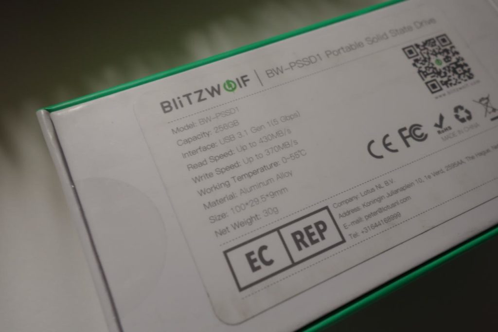BlitzWolf BW-PSSD1