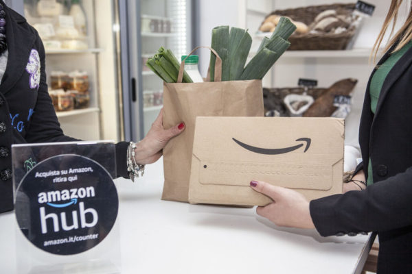 Amazon HUB Counter: come funzionano