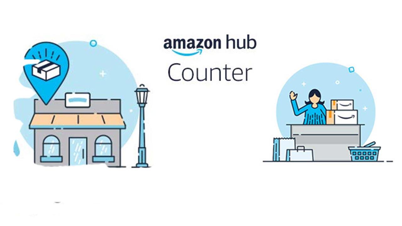 Amazon HUB Counter come funzionano