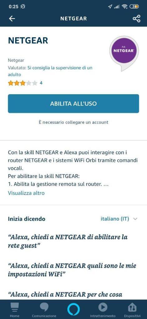 Come aggiungere Alexa al router