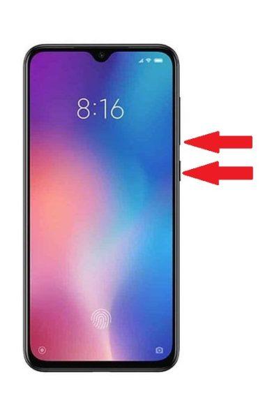Come fare screenshot Xiaomi