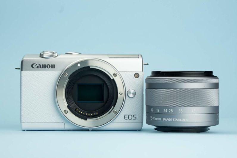 Recensione Canon EOS M200 05