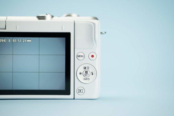 Recensione Canon EOS M200 08