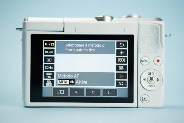 Recensione Canon EOS M200 09